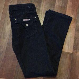 Hudson darkwash denim jeans size 27